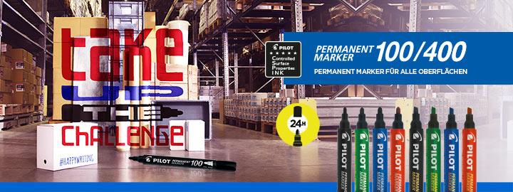 Permanent Marker 100/400 Pilot