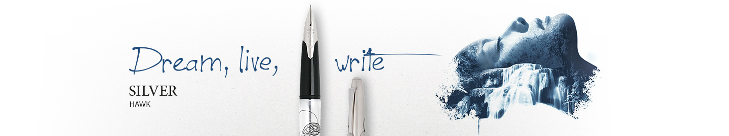 Pilot - Fine writing - Silver hawk