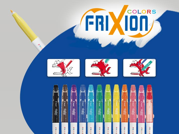 Pilot FriXion Colors Pennarelli Colorati