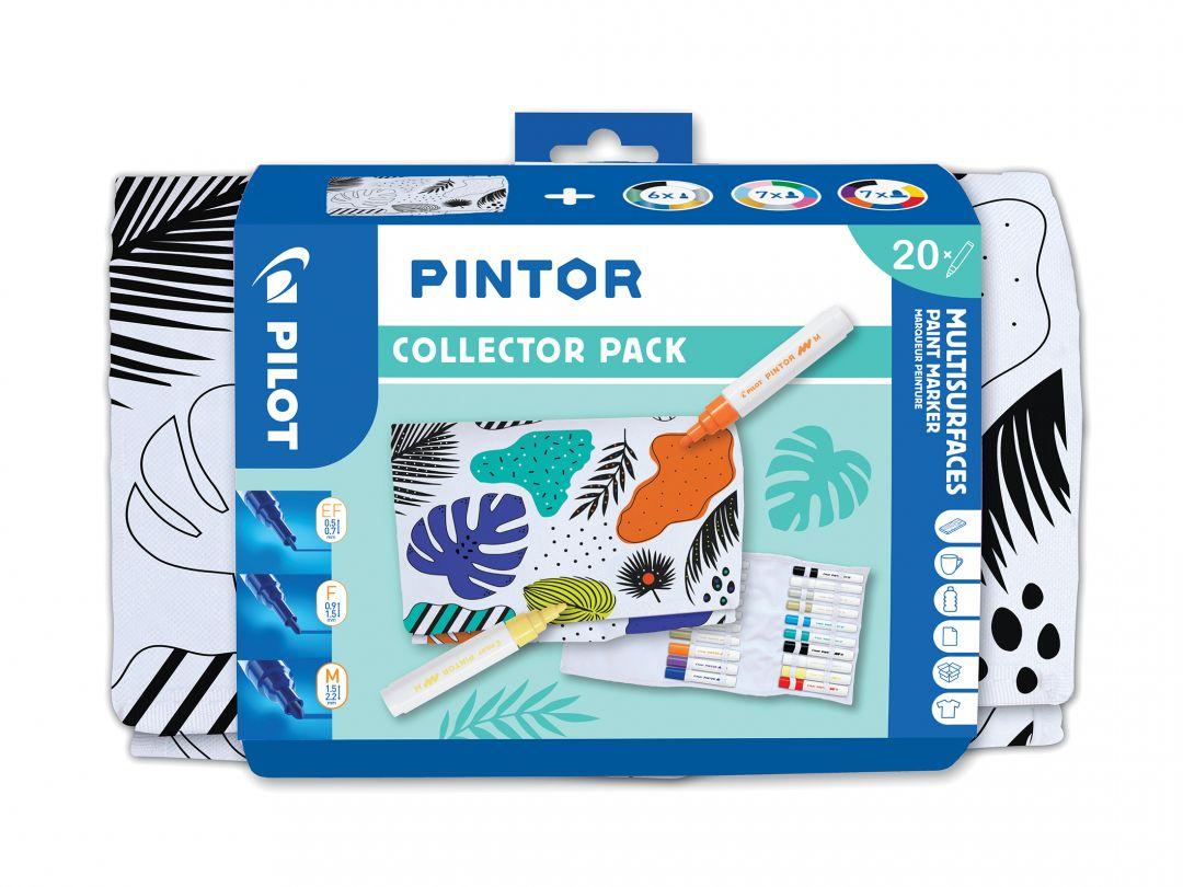 Pilot Pintor - Collector Set - Farbl. sortiert - Extra-Fein / Fein / Medium Spitze