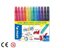 FriXion Colors - 12er Set - MULTICOLOR - Medium Spitze