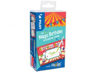 FriXion Colors - My Magic Birthday Cards Circus - Farbl. sortiert - Medium Spitze