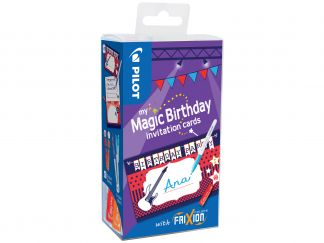 FriXion Colors - My Magic Birthday Cards Music - Farbl. sortiert - Medium Spitze