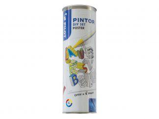 Pilot Pintor - Set DIY Poster - MULTICOLOR - Feine Spitze