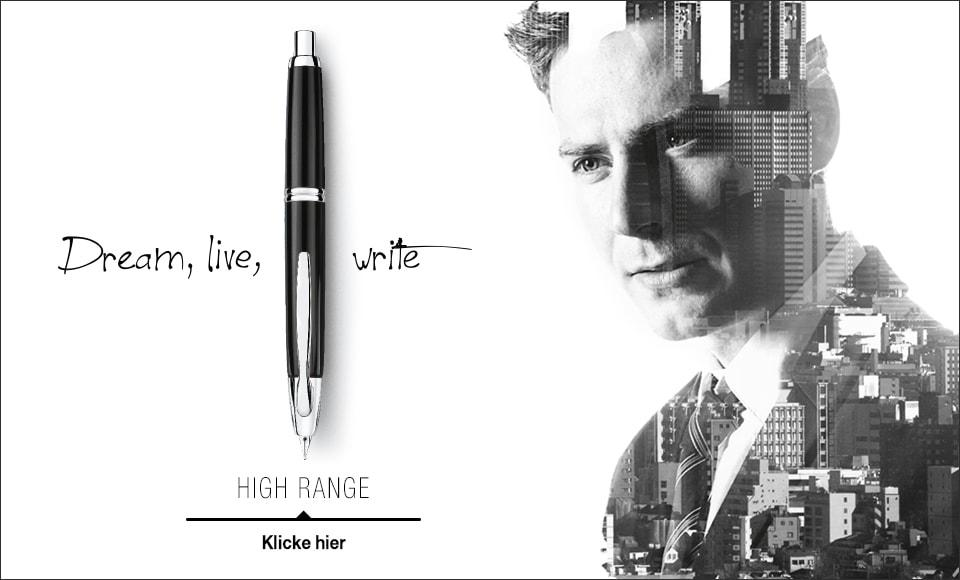 High Range Pilot: Dream, live, Write