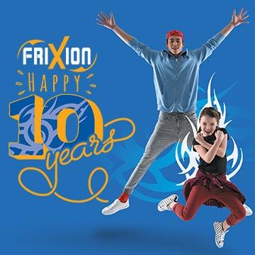 Célébrez les 10 ans du FriXion !