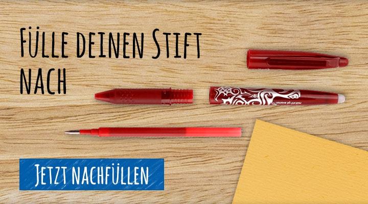 Fülle deinen Stift nach